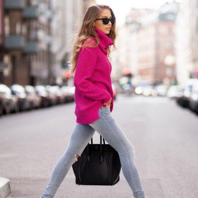 ست کردن ژاکت بافتنی در استایل زنانه