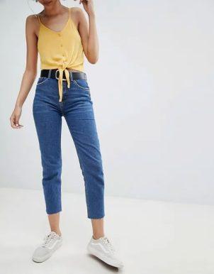انواع مدل های شلوار جین زنانه